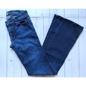 7 For All Mankind Bootcut Jeans Tall